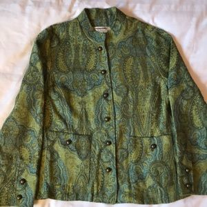 3 for $30Vintage cold water creek paisley jacket
